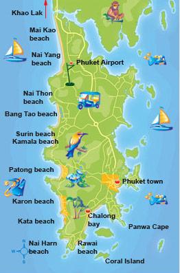 Karta Thailand Patong.Vardagen I Urskogen Phuket Buller Och Patong